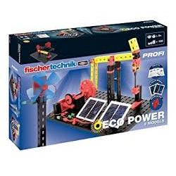 FISCHERTECHNIK PROFI - ECO POWER (energia solar) +9 anos - 57485