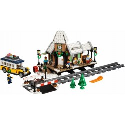 LEGO Semi-Exclusivo Creator - Winter Village Station (902pcs) 2017