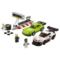 LEGO SPEED Champions - Porsche 911 RSR and 911 Turbo 3.0 (391pcs) 2018