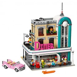 LEGO Semi-Exclusivo Creator - Downtown Diner (2480pcs) 2018