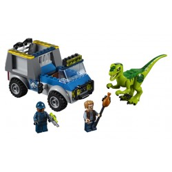 LEGO Juniors Jurassic World - Raptor Rescue Truck (85pcs) 2018