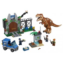 LEGO Juniors Jurassic World - T. Rex Breakout (150pcs) 2018