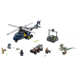 LEGO Jurassic World - Blue's Helicopter Pursuit (397pcs) 2018