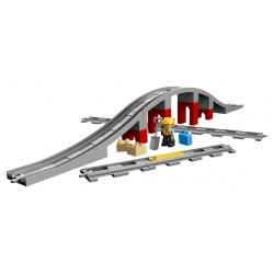 LEGO Duplo - Train Bridge and Tracks (26pcs) 2018
