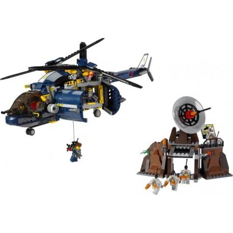 LEGO AGENTS - Unidade de Defesa Aérea - Descontinuado