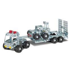 Eitech - Building construction - Truck w.Trailer/Forklifter (400pcs) - 2018 - 00008