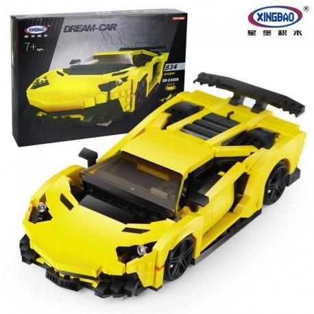 Xingbao MOC Creator - Yellow Lamborghini (924pcs) XB03008