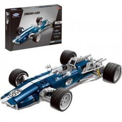 Xingbao MOC Creator - Blue Sonic Racing Cars (1758pcs) XB03022