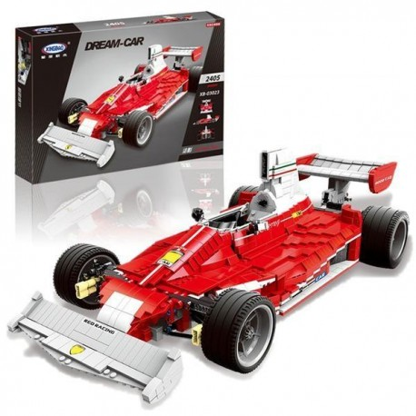 Xingbao MOC Creator - Red Power Racing Cars (2405pcs) XB03023
