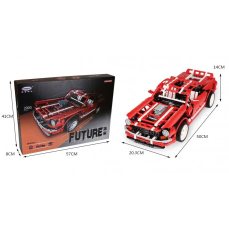 Xingbao MOC Technic - Muscle Car (2000pcs) XB07001