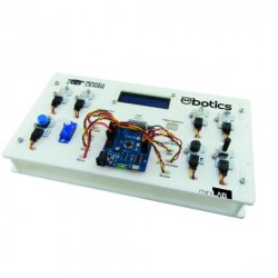 EBOTICS - Mini Laboratório p/Experiências c/ATMEGA328 c/componetes. - BXLAB01