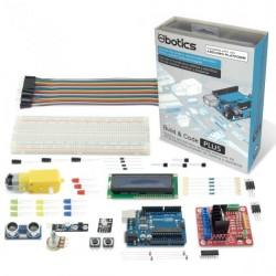 EBOTICS - KIT Profi. c/Uno R3+Motor shield p/robô+comp.+fios+Breadboard 830 - MXBC02