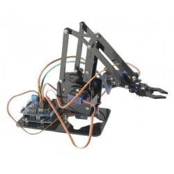 EBOTICS - KIT de Braço robótico c/ATMEGA328P, c/comando+peças  - BXARM01