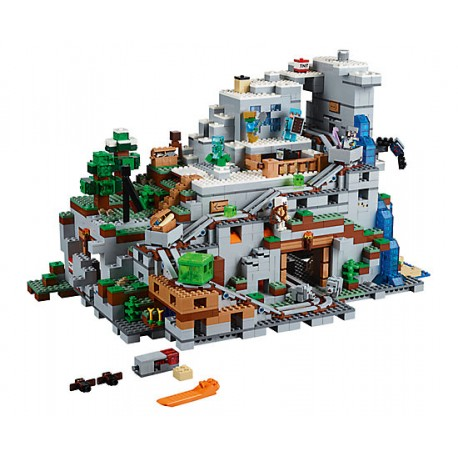 LEGO Semi Exclusivo Minecraft - A Caverna da Montanha (2863pcs) 2018