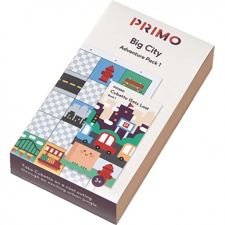 CUBETTO Pack - Big City Adventure - PRIMO010A