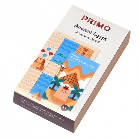CUBETTO Pack - Ancient Egypt Adventure - PRIMO007A