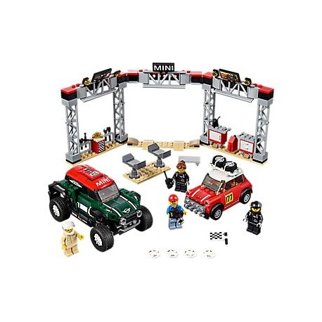 LEGO Speed Champions - 1967 Mini Cooper Rally e 2018 MINI John Cooper (481pcs) 2019