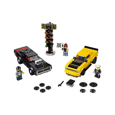 LEGO Speed Champions - 2018 Dodge Challenger e 1970 Dodge Charger R/T (478pcs) 2019