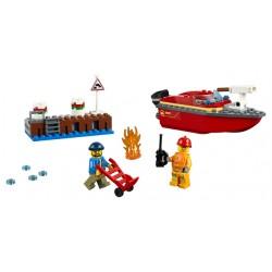 LEGO City - Incêndio na Doca (97pcs) 2019
