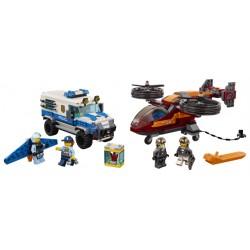 LEGO City - Polícia Aérea - Assalto de Diamante (400pcs) 2019