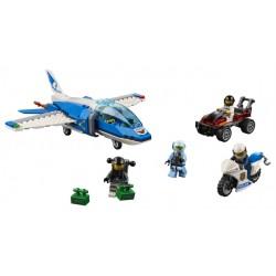LEGO City - Polícia Aérea - Detenção de Paraquedas (218pcs) 2019