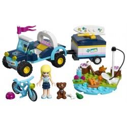 LEGO Friends - Buggy e Reboque da Stephanie (166pcs) 2019