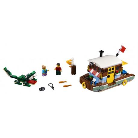LEGO Creator - Casa Flutuante à Beira-Rio (396pcs) 2019