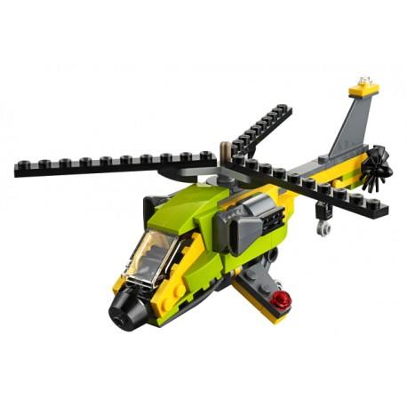 LEGO Creator - Aventura de Helicóptero (114pcs) 2019