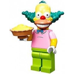 "LEGO MINIFIGURE - Simpsons 1ª Série - ""Krusty the Clown"""