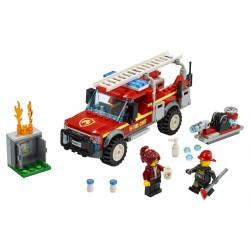 LEGO City -  Truck do Chefe de Bombeiros