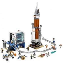 LEGO City - Foguete de Espaço Intersideral e Controle de Lançamento