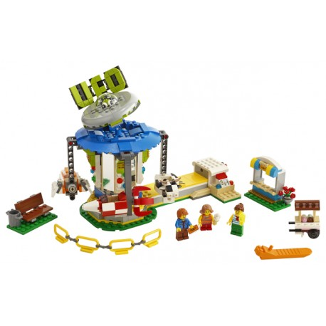 LEGO Creator - Carrossel da Feira de Diversões (595pcs) 2019