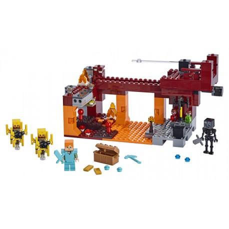 LEGO Minecraft - A Ponte Flamejante (372pcs) 2019