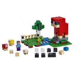 LEGO Minecraft - A Fazenda da Lã (260pcs) 2019