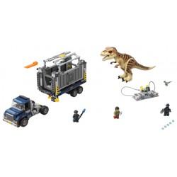 LEGO Jurassic World - Transporte de T. Rex (609pcs) 2019