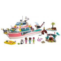 LEGO Friends - Barco da Missão de Resgate (908pcs) 2019