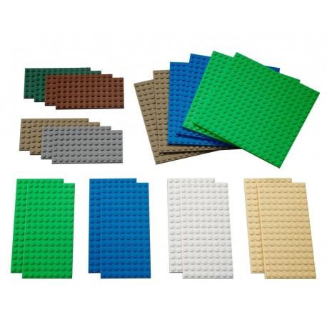 "Small Building Plates"" - (22 pcs.)"