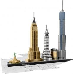LEGO ARCHITECTURE - Cidade de Nova Iorque (598 pcs.) 2016
