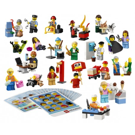 "LEGO - ""Community People Set"" - 21 minifig. (224pcs) 2019"