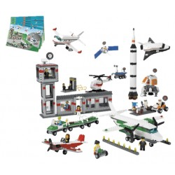 "LEGO - ""Space and Airport Set"" (1176 pcs.) 2018"