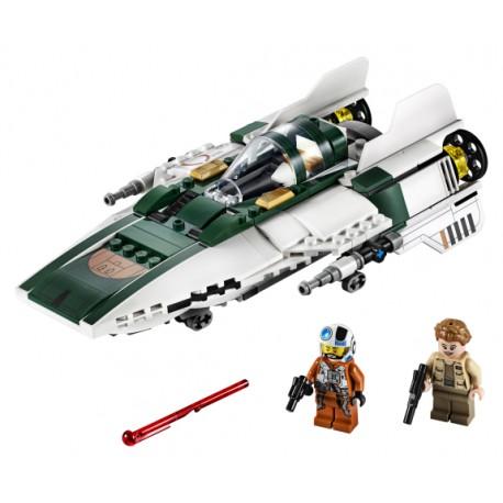 LEGO Star Wars - A-Wing Starfighter da Resistência (269pcs) 2019