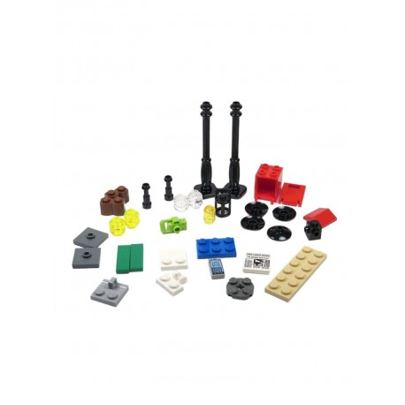 LEGO Exclusivo Xtra City - Streetlamps (34pcs) 2019
