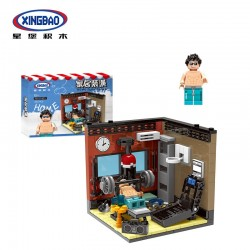 Xingbao City Home - Gym (340pcs) 2019 - XB01401D