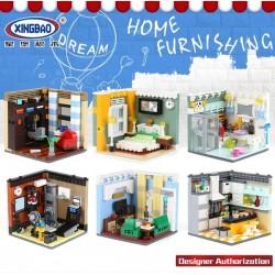 Xingbao City Home - Furnishing, Set 6 in 1 (2074pcs) - XB01401