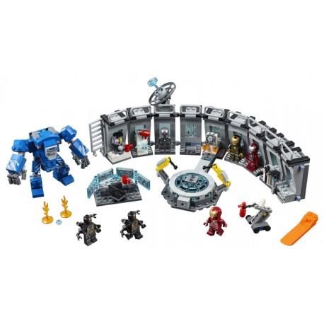 LEGO Avengers - O Salão das Armaduras de Iron Man (524pcs) 2019