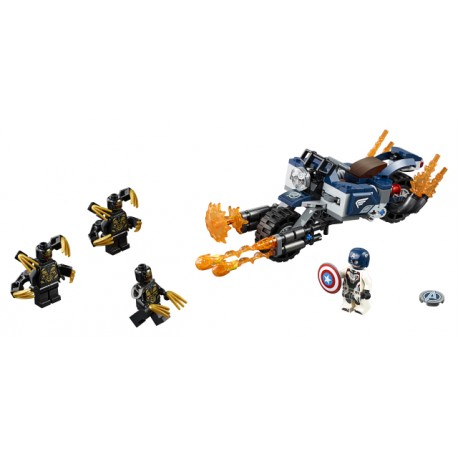 LEGO Avengers - Captain America: Ataque de Outriders (167pcs) 2019
