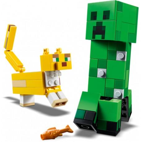 LEGO Minecraft - BigFig Creeper™ e Ocelote (184pcs) 2020