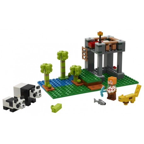 LEGO Minecraft - A Creche dos Pandas (204pcs) 2020