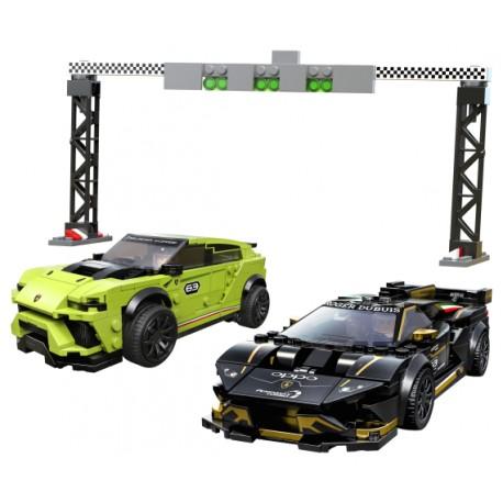LEGO Speed Champions - Lamborghini Urus ST-X E Lamborghini Huracán (673pcs) 2020