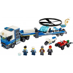 LEGO City - Transporte de Helicóptero da Polícia (317pcs) 2020